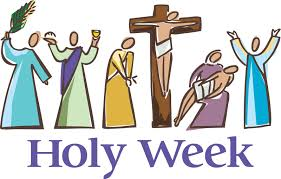 Holy Thursday 7:00 pm Good Friday 3:00 pm Easter Vigil 8:00 pm Easter Sunday 9:00 and 11:00 am