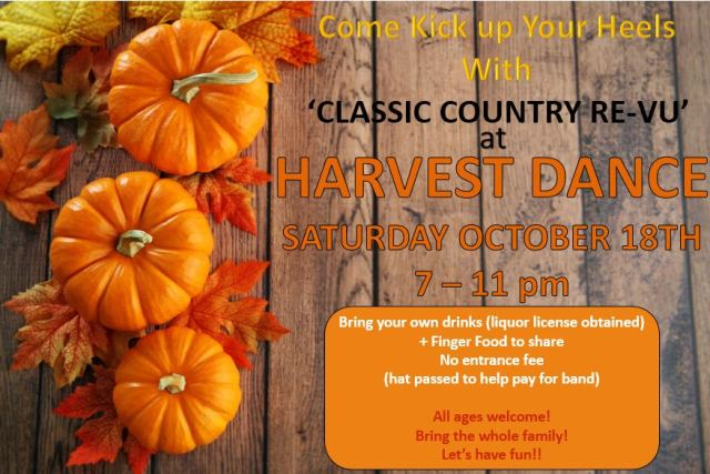 Harvest Dance 2014