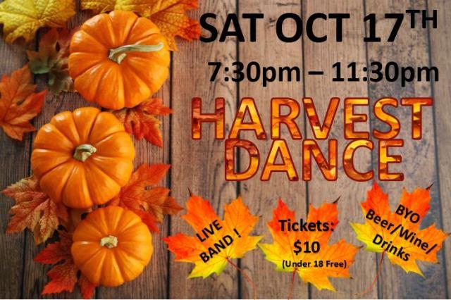 Fall Harvest Dance 2015